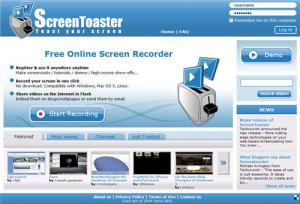 Video tutoriales para cursos e learning con screentoaster